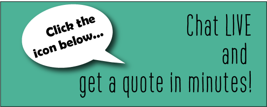 Chat Live and Get a Quote